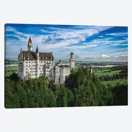 Castle In The Sky Canvas Print #JRP11} by Jonathan Ross Photography Canvas Art Print