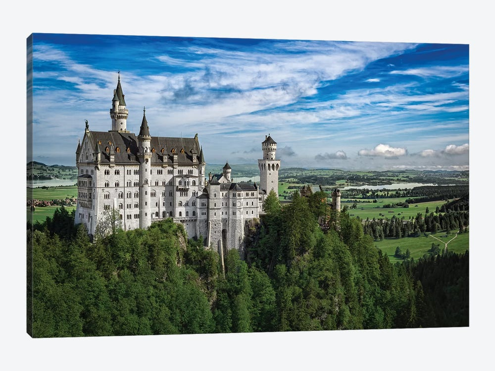 Castle In The Sky by Jonathan Ross Photography 1-piece Canvas Artwork