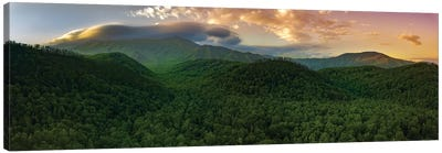 Smoky Mountain Storm Clouds Canvas Art Print