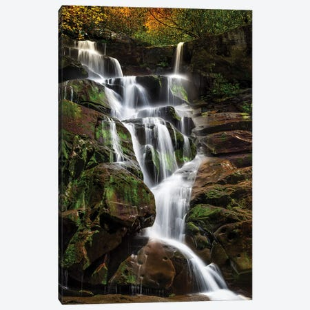 Tranquil Falls Canvas Print #JRP126} by Jonathan Ross Photography Canvas Wall Art