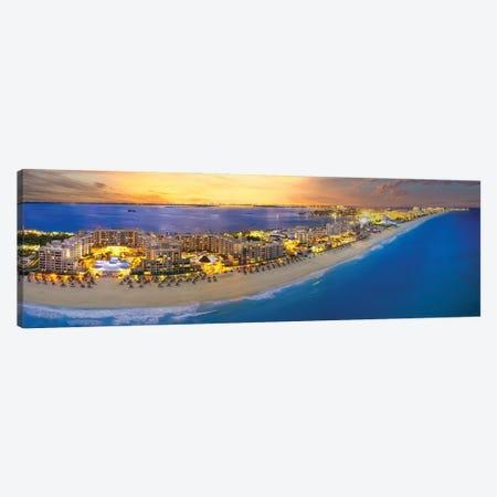 Cancun Glow Canvas Print #JRP140} by Jonathan Ross Photography Art Print