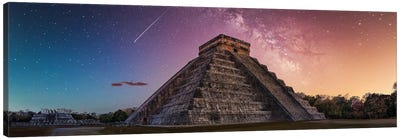 Milky Way Over Chichen-Itza Canvas Art Print