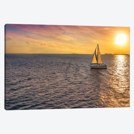 Sailing Near The Sun Canvas Print #JRP146} by Jonathan Ross Photography Canvas Art