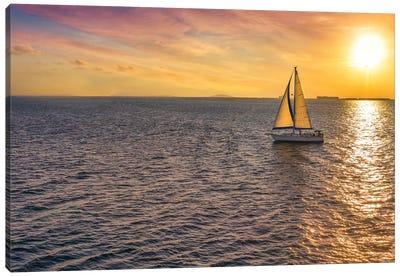 Sailing Near The Sun Canvas Art Print