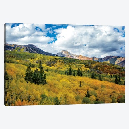 Colorado Colors Canvas Print #JRP14} by Jonathan Ross Photography Canvas Wall Art