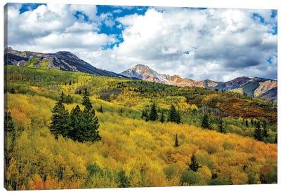 Colorado Colors Canvas Art Print