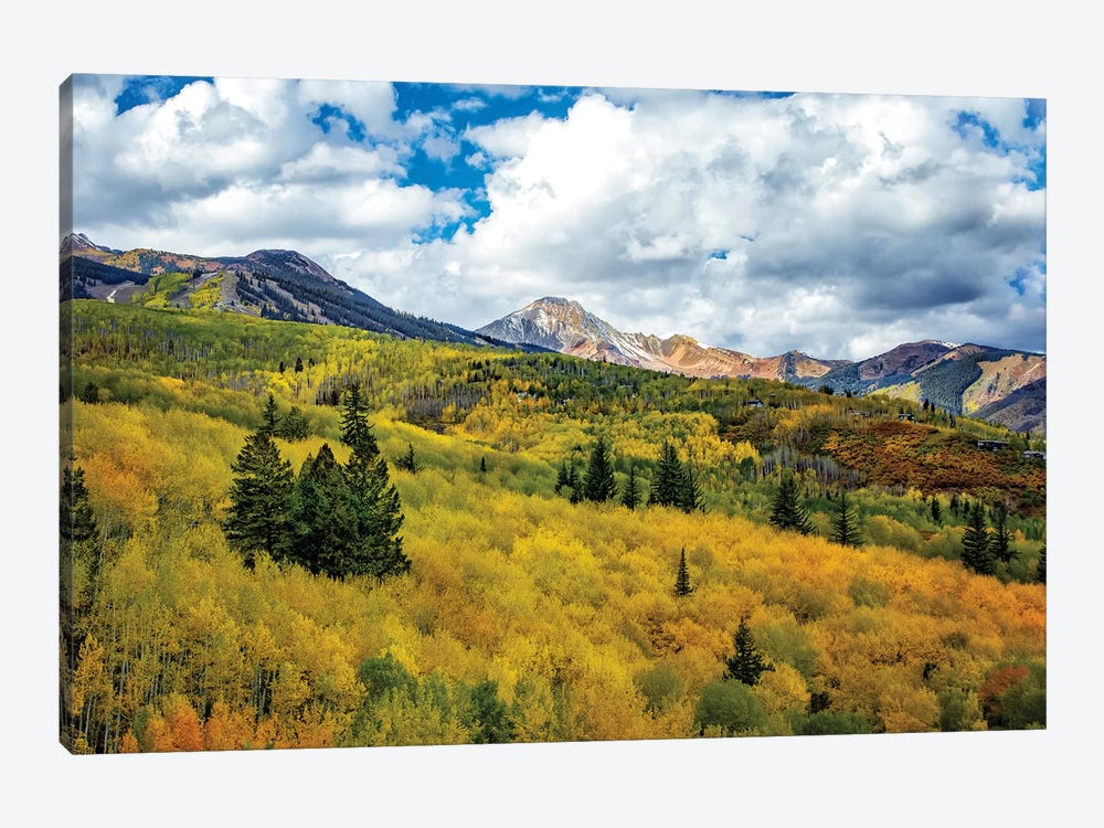 Colorado Colors by Jonathan Ross Photography 1-piece Canvas Art Print