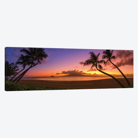 An Evening In Hawaii Canvas Print #JRP154} by Jonathan Ross Photography Art Print