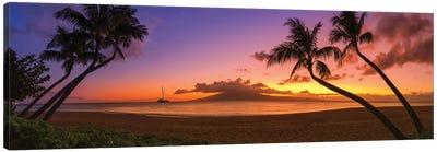 An Evening In Hawaii Canvas Art Print