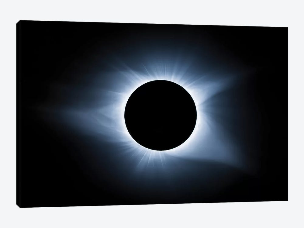 Cool Solar Eclipse by Jonathan Ross Photography 1-piece Canvas Artwork