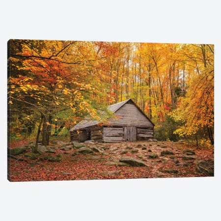 Fall Has Come Home Canvas Print #JRP168} by Jonathan Ross Photography Art Print