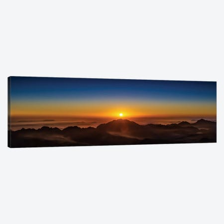 American Sunrise 3-Piece Canvas #JRP1} by Jonathan Ross Photography Canvas Artwork
