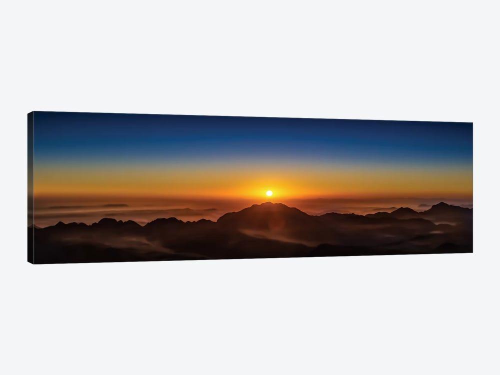 American Sunrise by Jonathan Ross Photography 1-piece Canvas Art Print