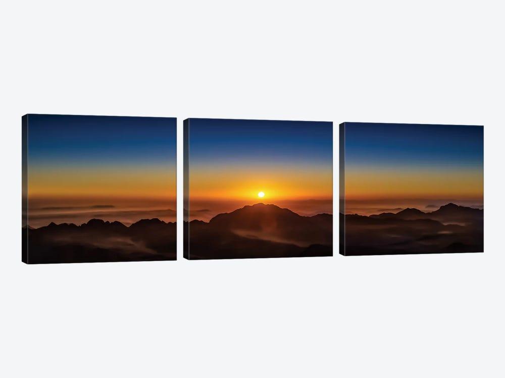 American Sunrise by Jonathan Ross Photography 3-piece Canvas Art Print