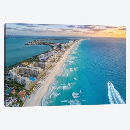 Daybreak In Paradise Canvas Print #JRP22} by Jonathan Ross Photography Canvas Art