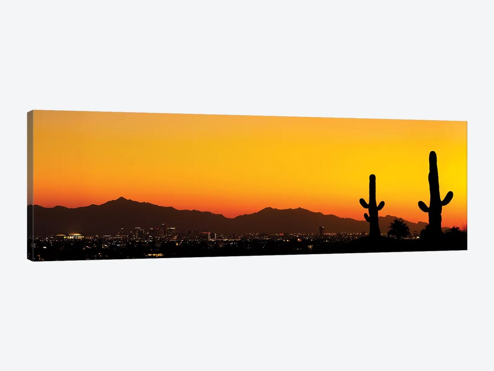 Desert City Sunset by Jonathan Ross Photography 1-piece Art Print