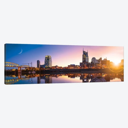 Good Morning Nashville Canvas Print #JRP30} by Jonathan Ross Photography Canvas Print