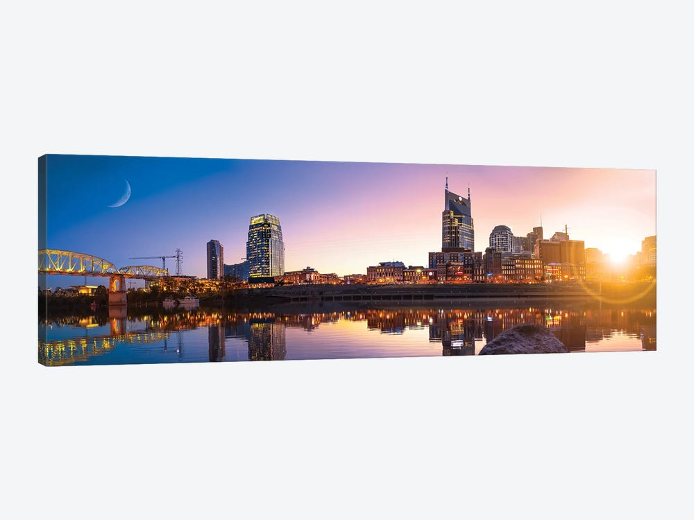Good Morning Nashville by Jonathan Ross Photography 1-piece Canvas Art Print