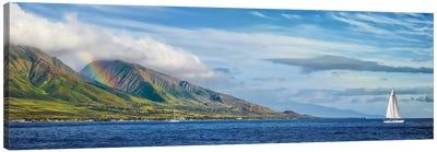 Hawaiian Catamaran Canvas Art Print