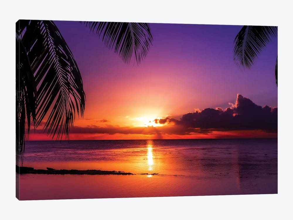 Island Sunset by Jonathan Ross Photography 1-piece Canvas Art