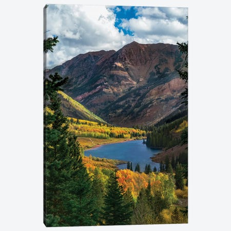 Majestic Cloudy Peaks 3-Piece Canvas #JRP46} by Jonathan Ross Photography Art Print