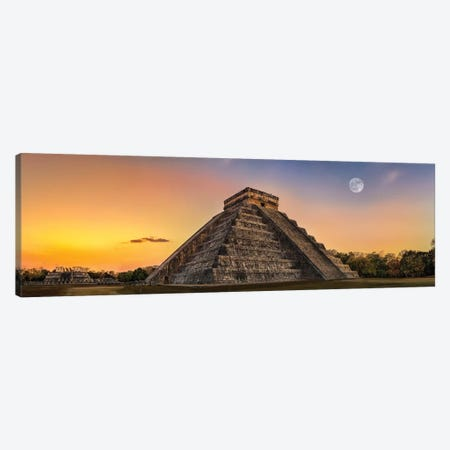 Mayan Twilight Canvas Print #JRP49} by Jonathan Ross Photography Canvas Art