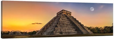 Mayan Twilight Canvas Art Print