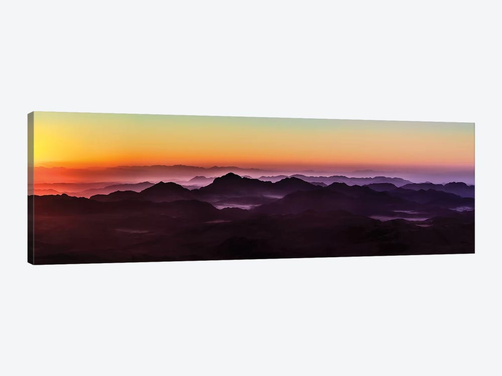 Misty Sinai by Jonathan Ross Photography 1-piece Canvas Print