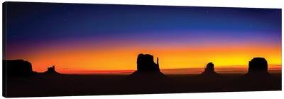 Monument Valley Glow Canvas Art Print