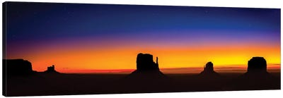 Monument Valley Glow Canvas Art Print