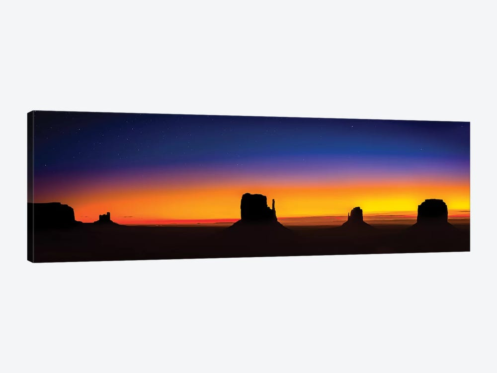 Monument Valley Glow 1-piece Canvas Print