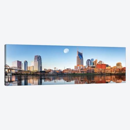 Nashville Daybreak Panorama Canvas Print #JRP59} by Jonathan Ross Photography Canvas Art Print