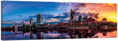 Nashville Transition Canvas Art Print