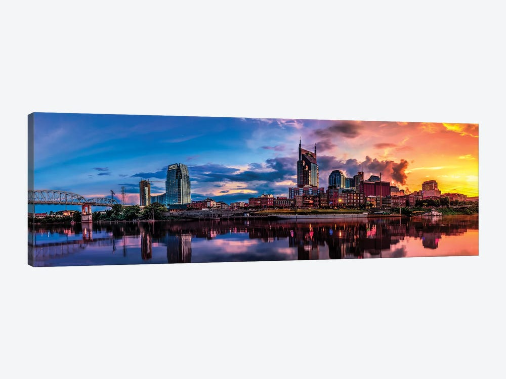 Nashville Transition by Jonathan Ross Photography 1-piece Canvas Wall Art