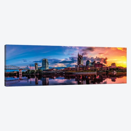 Nashville Transition Canvas Print #JRP62} by Jonathan Ross Photography Canvas Artwork
