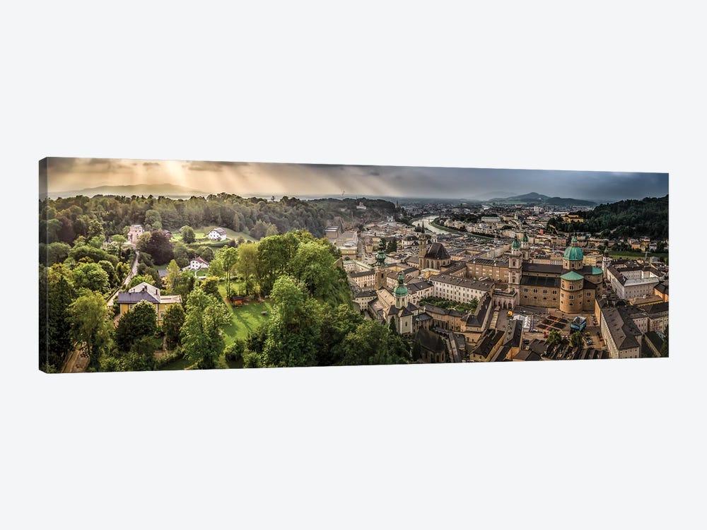 Overlooking Salzburg by Jonathan Ross Photography 1-piece Canvas Wall Art
