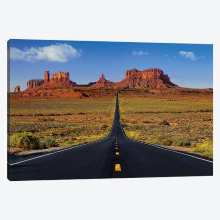 Roadway To The Monuments Canvas Print #JRP74} by Jonathan Ross Photography Canvas Artwork