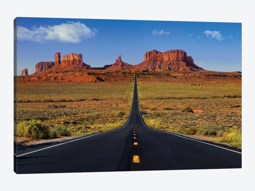 Roadway To The Monuments by Jonathan Ross Photography 1-piece Canvas Print