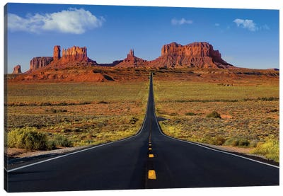 Roadway To The Monuments Canvas Art Print