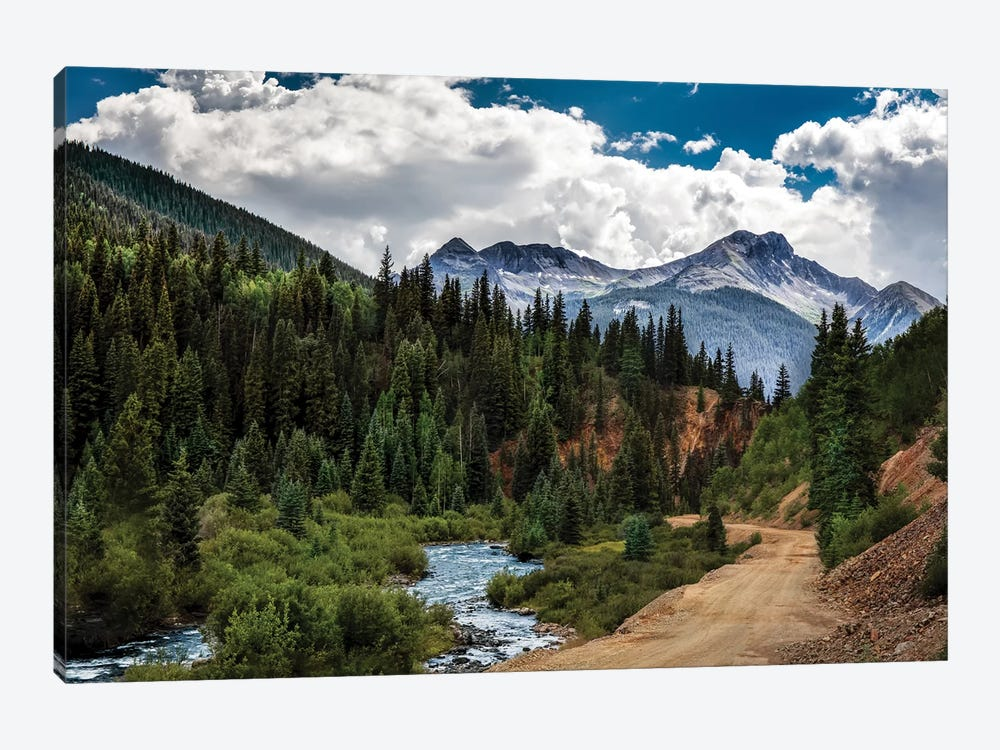Rocky Mountain Roadway by Jonathan Ross Photography 1-piece Canvas Wall Art