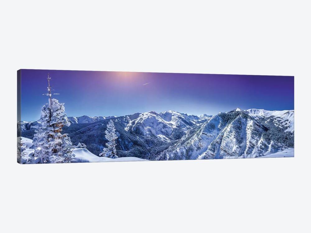 Rocky Mountain Winter Wonderland by Jonathan Ross Photography 1-piece Canvas Print