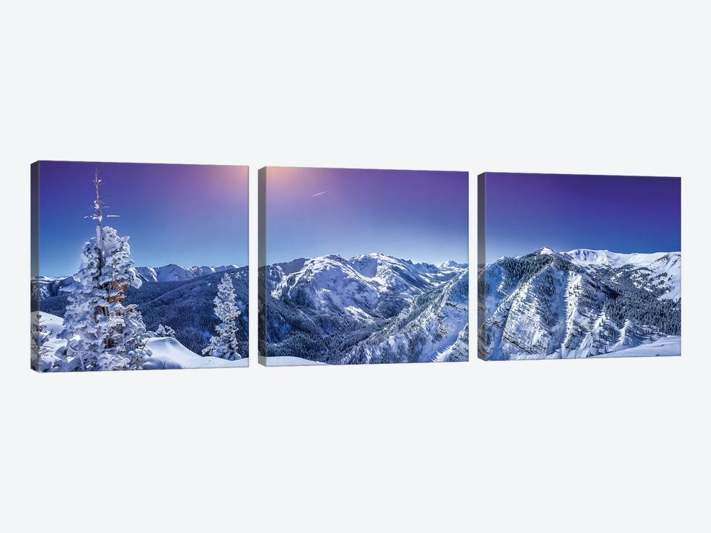 Rocky Mountain Winter Wonderland by Jonathan Ross Photography 3-piece Art Print