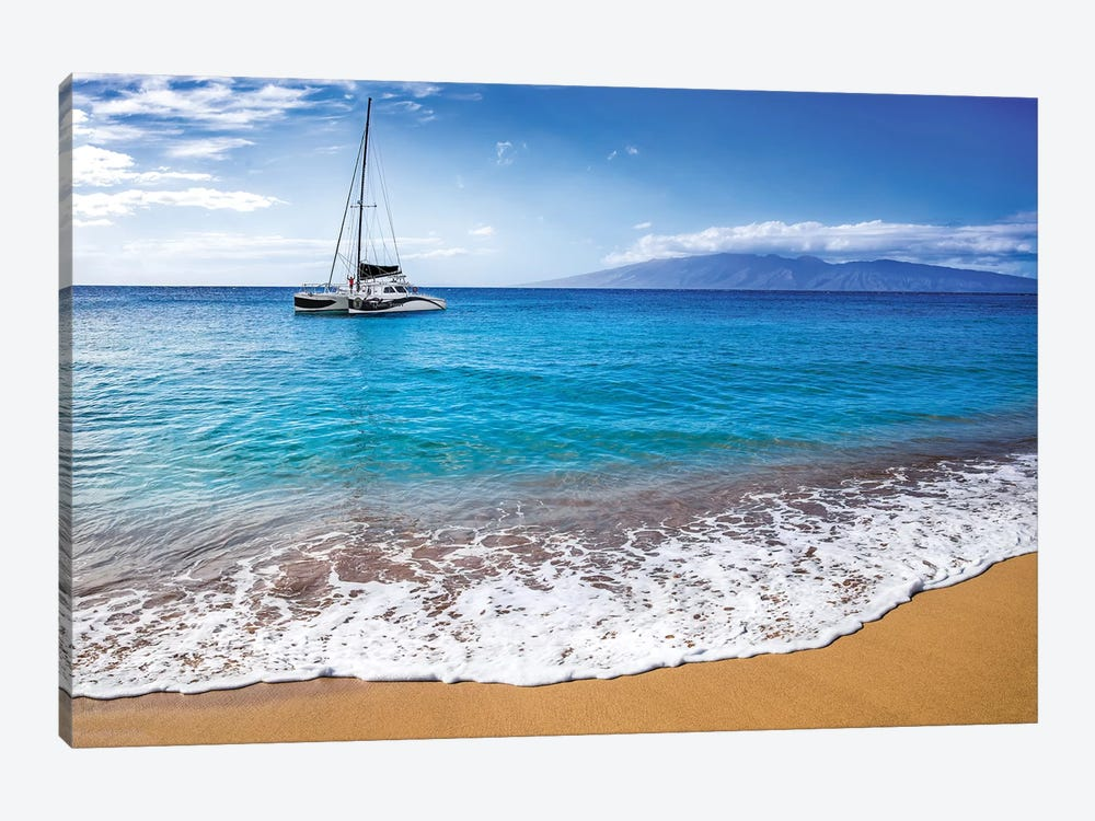 Sailing In Paradise by Jonathan Ross Photography 1-piece Canvas Artwork