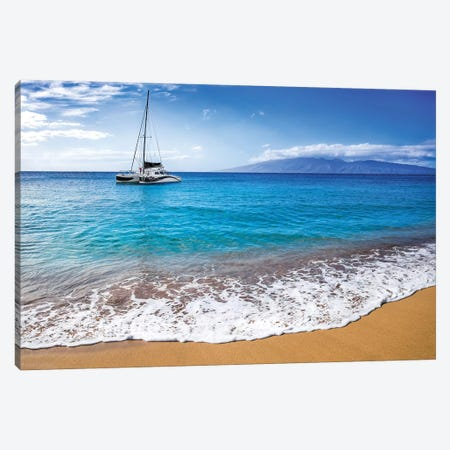 Sailing In Paradise Canvas Print #JRP79} by Jonathan Ross Photography Art Print