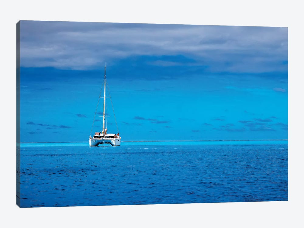 Boating In Paradise by Jonathan Ross Photography 1-piece Art Print