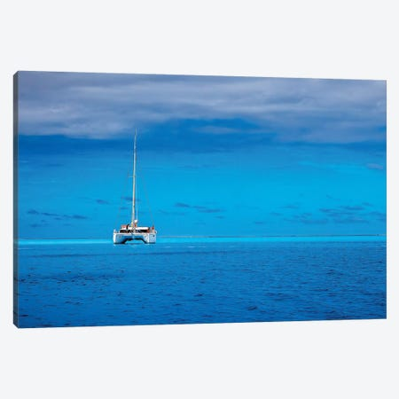 Boating In Paradise Canvas Print #JRP7} by Jonathan Ross Photography Art Print