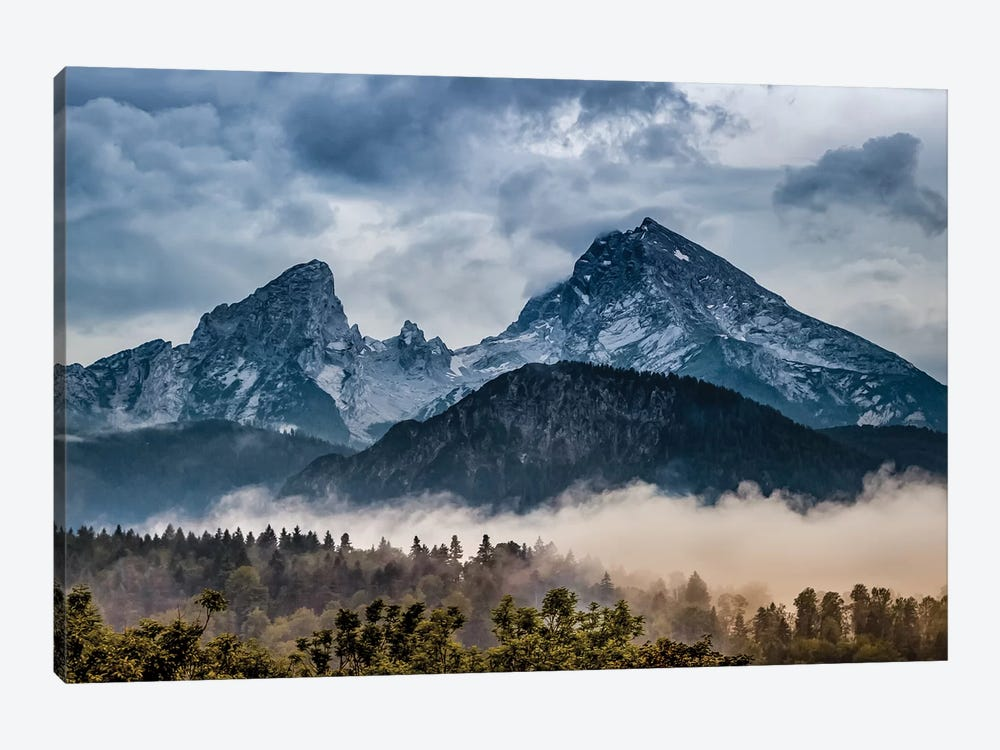 Stormy Alps by Jonathan Ross Photography 1-piece Art Print