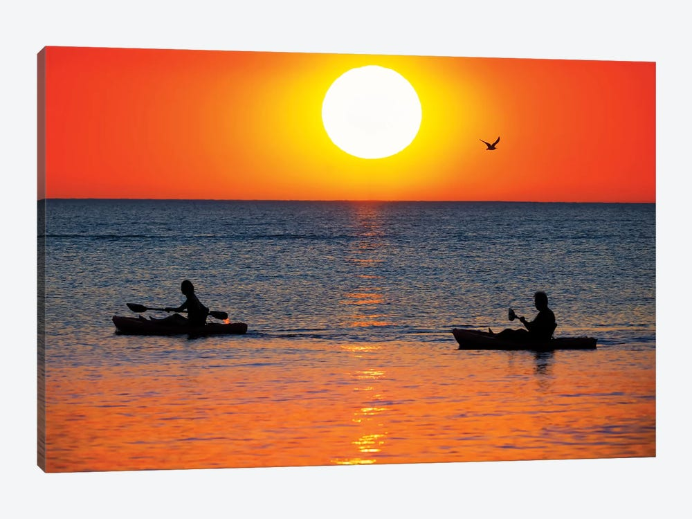 Sunset Excursion by Jonathan Ross Photography 1-piece Canvas Artwork