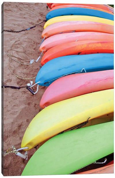 Kayaks I Canvas Art Print