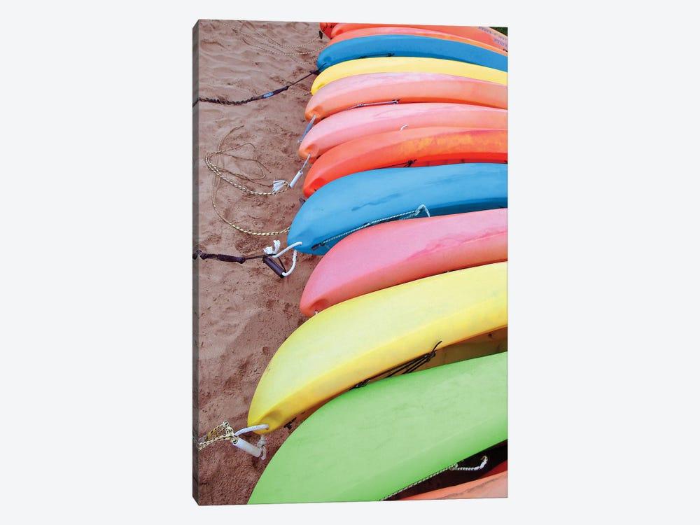 Kayaks I by Jairo Rodriguez 1-piece Canvas Art